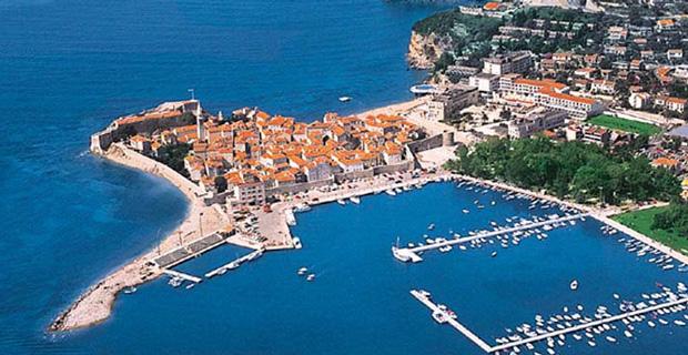 New Hotel in the Adriatic Beach Resort City Budva